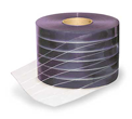 Houston Strip Curtains 8 inch ribbed